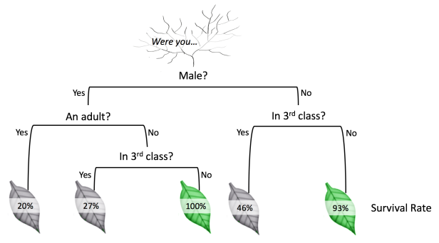 decision trees titanic tutorial gif